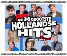De 36 Grootste Hollandse Hits - Zomer 2019 - 2cd