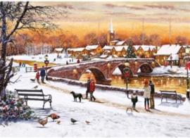 Otter House - Winter Sunset - 1000 stukjes