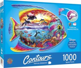 Master Pieces - Tropical Fish - 1000 stukjes  Vormpuzzel