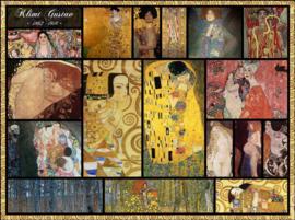 Grafika Gustav Klimt - Collage Gustav Klimt - 2000 stukjes