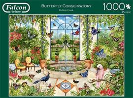 Falcon de Luxe 11255 - Butterfly Conservatory - 1000 stukjes