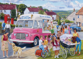 Falcon de Luxe 11339 - The Ice Creame Van - 1000 stukjes
