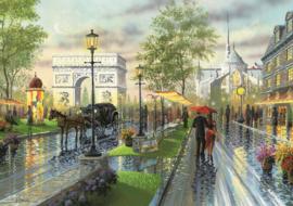 Art Puzzle - Spring Walk, Paris - 1000 stukjes