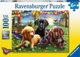 Ravensburger - Honden Picknick - 100XXL