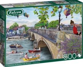 Falcon de Luxe 11287 - Looking Across the River - 500 stukjes