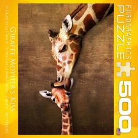 Eurographics 0301 - Giraffe Mother's Kiss - 500XL stukjes