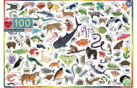 eeBoo - Beautiful World - 100 XXL stukjes