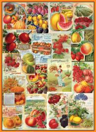Eurographics 0818 - Fruit Seed Catalog Covers - 1000 stukjes