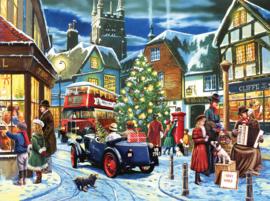 SunsOut 13697 - Christmas Streets - 1000 stukjes