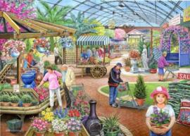 House of Puzzles - At the Garden Centre - 1000 stukjes