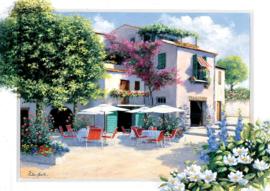Art Puzzle - Cafe Villa - 500 stukjes