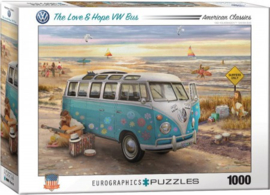 Eurographics 5310 - The Love & Hope VW Bus - 1000 stukjes