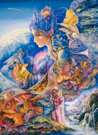 Grafica Josephine Wall - Once in a Blue Moon - 1000 stukjes