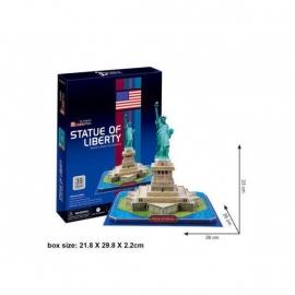 Cubic Fun 3D - Vrijheidsbeeld - 39 stukjes