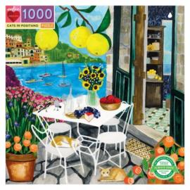 eeBoo - Cats in Positano - 1000 stukjes