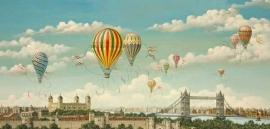 SunsOut 79201 - Ballooning over London - 1000 stukjes   OP=OP