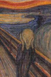 Londji Edvard Munch - The Scream - 150 Micro stukjes