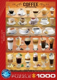 Eurographics 0589 - Coffee - 1000 stukjes
