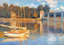 D-Toys Claude Monet - Le Point d'Argenteuil - 1000 stukjes
