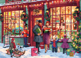 Gibsons 6252 - Christmas Toy Shop - 1000 stukjes   OP=OP