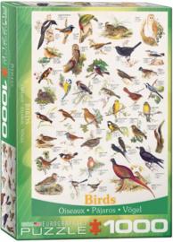 Eurographics - Birds - 1000 stukjes