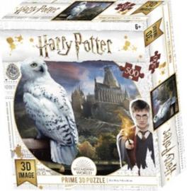 TFF 3D Image Puzzel - Harry Potter Hedwig - 500 stukjes