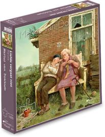 Art Revisited Marius van Dokkum - Liefde Vergaat Niet - 1000 stukjes