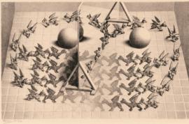 Puzzelman M.C. Escher - Toverspiegel - 1000 stukjes