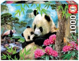 Educa - Morning Panda - 1000 stukjes
