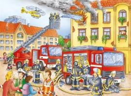Ravensburger -  Brandweer - 100 XXL stukjes