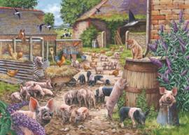 House of Puzzles - Piglet Pandemonium - 250XL stukjes