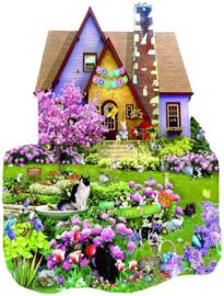 SunsOut 95562 - Easter on the Lawn - 1000 stukjes   OP=OP
