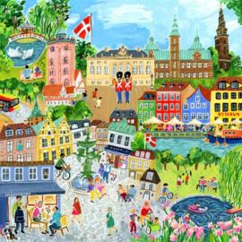 eeBoo - Copenhagen - 1000 stukjes
