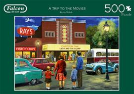 Falcon de Luxe - a Trip to the Movies - 500 stukjes