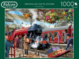 Falcon de Luxe 11250 - Waiting on the Platform - 1000 stukjes