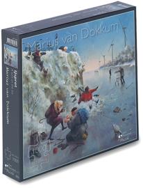 Art Revisited Marius van Dokkum - IJspret - 1000 stukjes