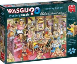 Wasgij Mystery 5 Retro - Zondagse Lunch! - 1000 stukjes