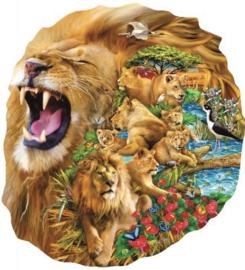 SunsOut 97010 - Lion Family - 1000 stukjes  Vormpuzzel