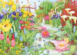Falcon de Luxe 11282 - Flower Show: The Water Garden - 1000 stukjes