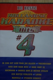 5433  Karaoke dvd  De beste Hollandse hits deel 4