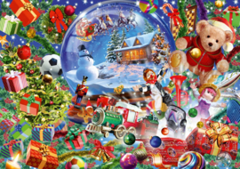 Bluebird - Christmas Globe - 1000 stukjes