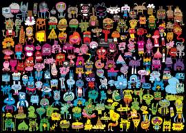 Heye - Doodle Rainbow - 1000 stukjes