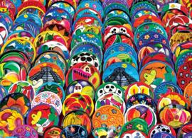 Eurographics 5421 - Mexican Ceramic Plates - 1000 stukjes