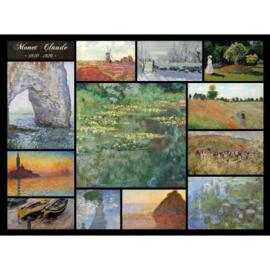 Grafika Claude Monet - Collage Claude Monet - 2000 stukjes