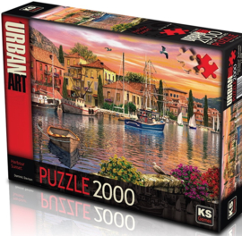 KS - Harbour Sunset - 2000 stukjes