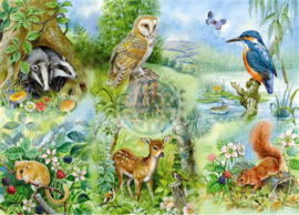 House of Puzzles - Nature Study - 250XL stukjes