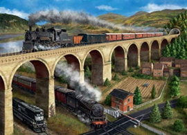Falcon de Luxe 11281 - The Viaduct - 1000 stukjes