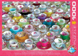 Eurographics 5314 - Tea Cups Collection - 1000 stukjes