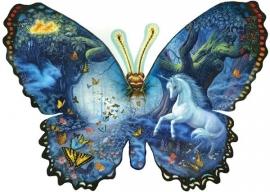 SunsOut 95330  Fantasy Butterfly  1000 stukjes  Vormpuzzel