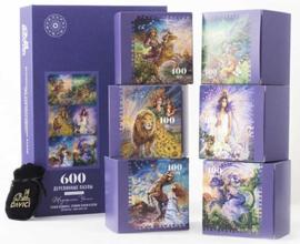 DaVICI Josephine Wall - Zodiac Elementen van Aarde en Vuur - 600 stukjes